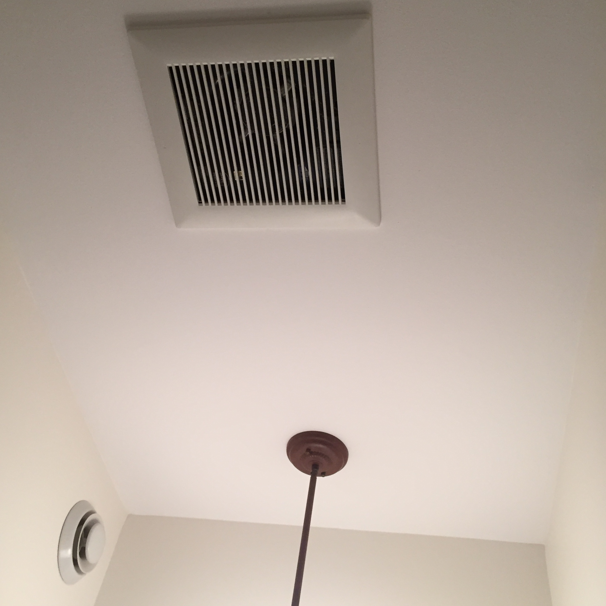 bathroom fan with hrvs and ervs