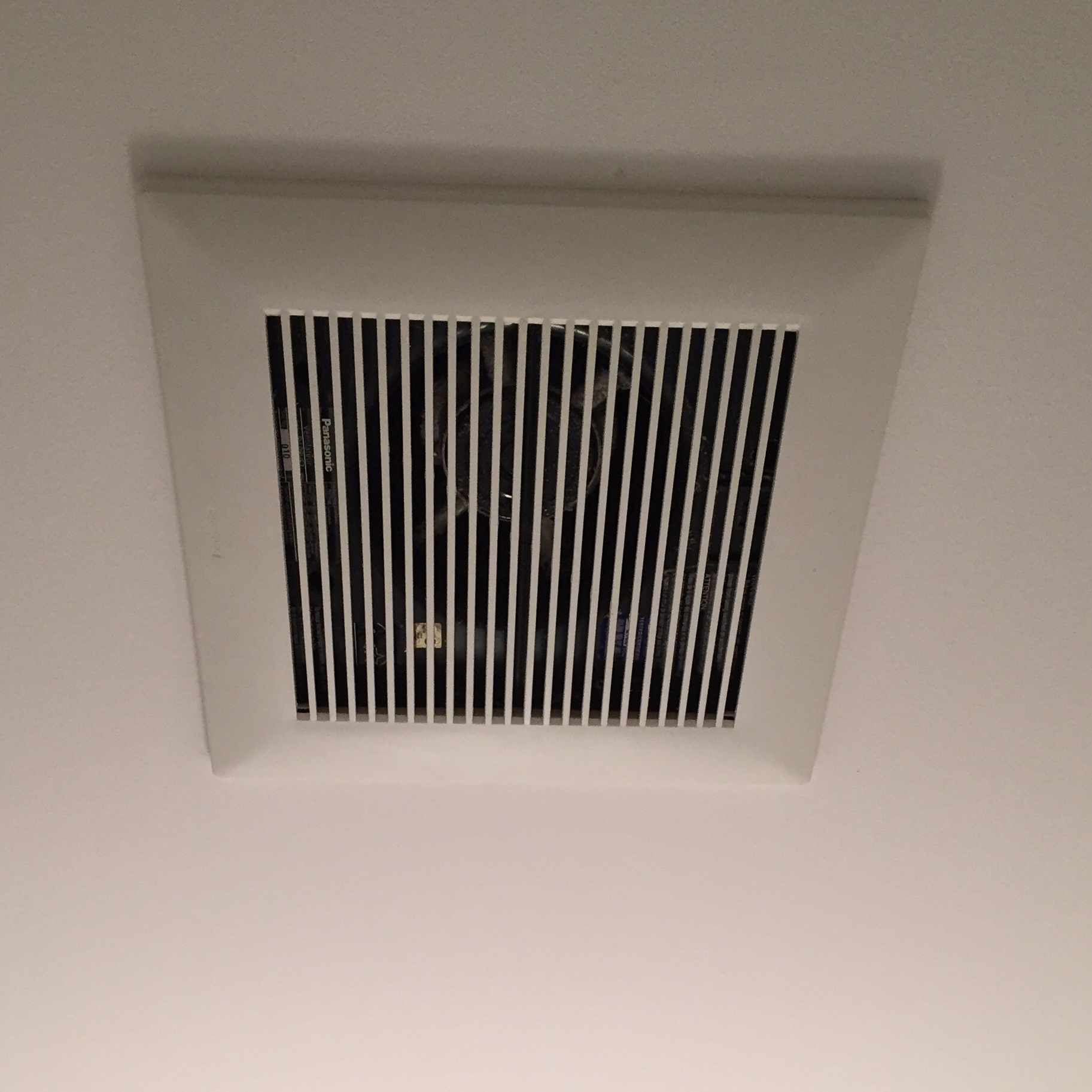 bathroom fan installation