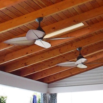 outdoor ceiling fan installation